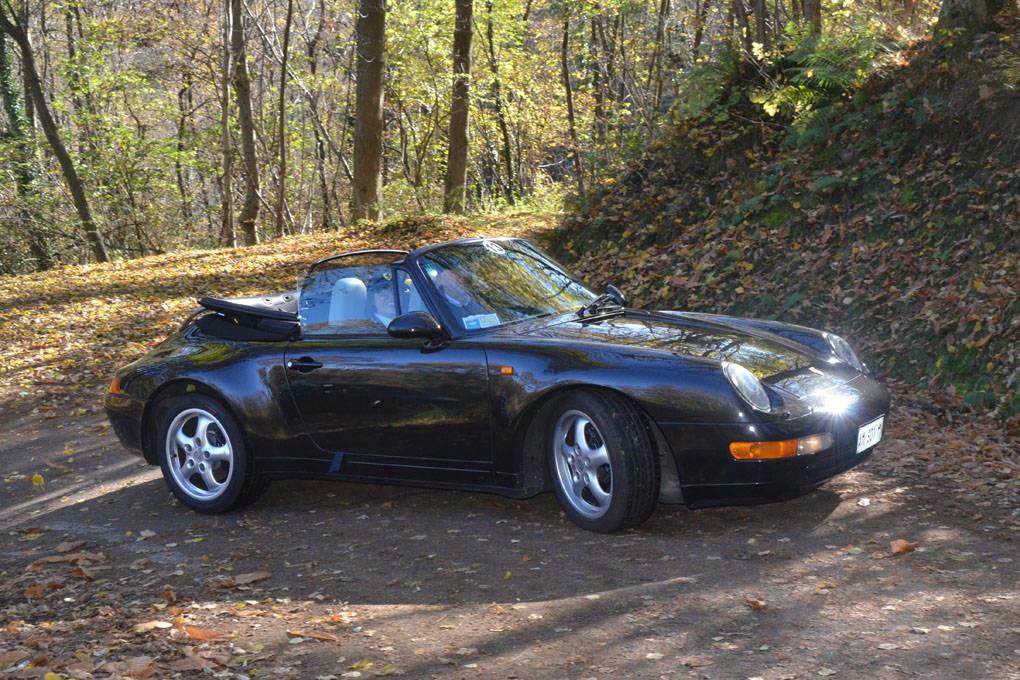 Guidando l'arte 2015 Porsche varese