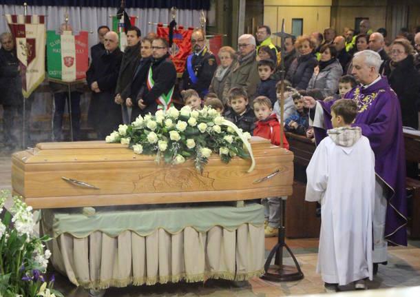 I funerali di Giuseppe Battaini