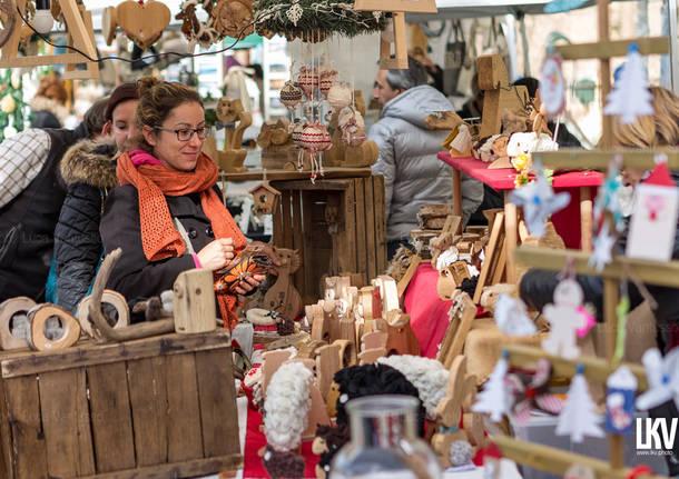Il mercatino di Natale della Rasa