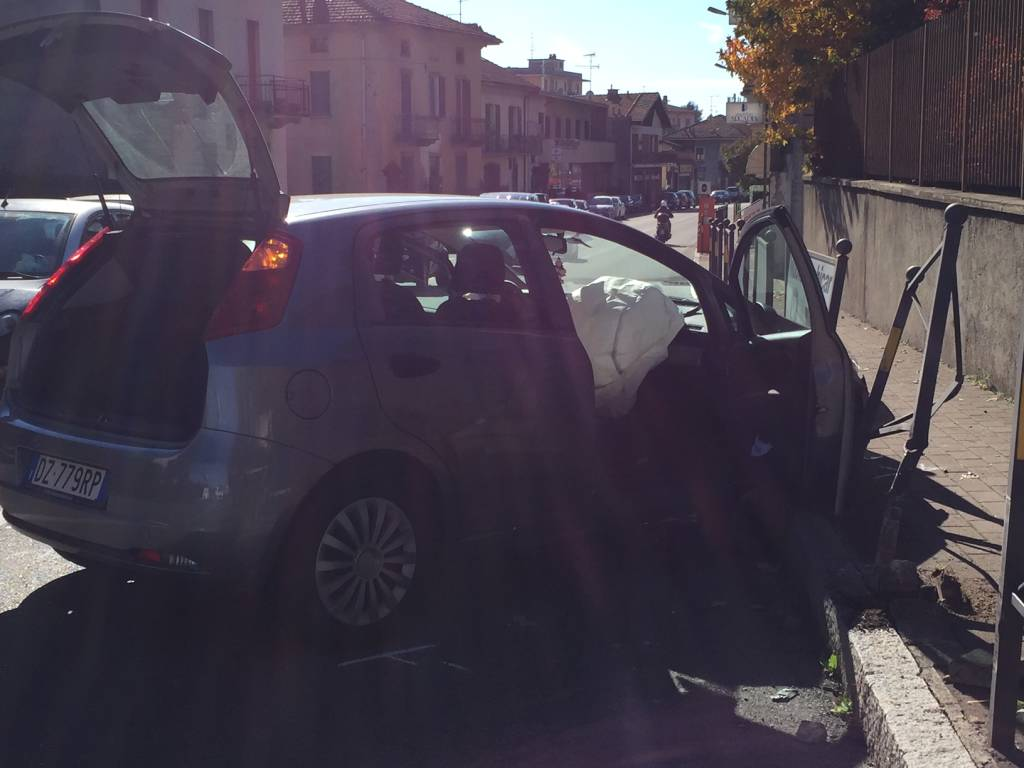incidente gazzada schianno 4 novembre 2015