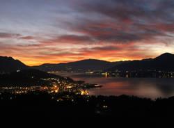 Lo spettacolo del tramonto a Novembre