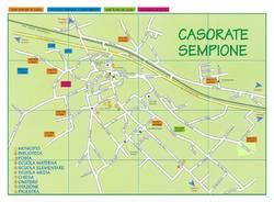 Mappa furti Casorate Sempione
