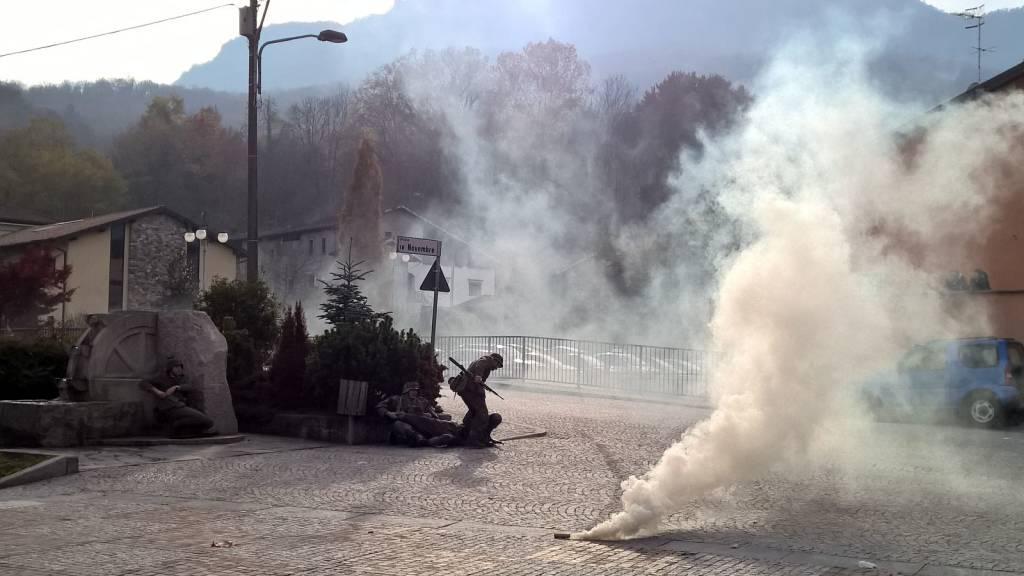 Mesenzana ricostruzione storica battaglia del san martino