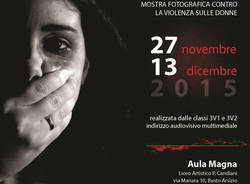 mostra fotografica violenza donne guardami