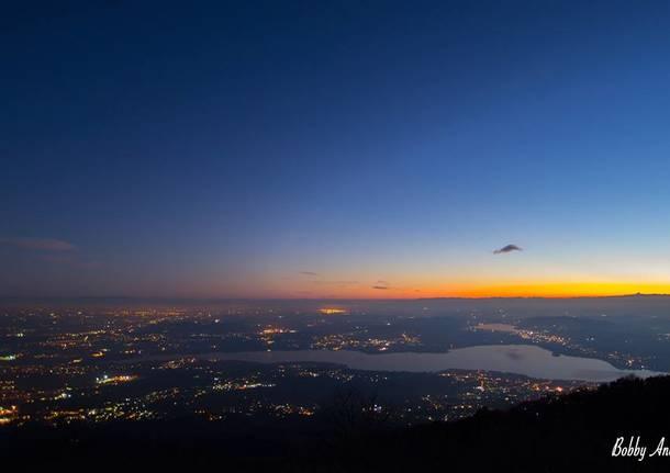 Varese vista dall'alto