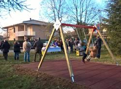 Vedano Olona: nuovo parco giochi