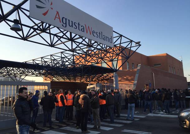 AgustaWestland sciopero