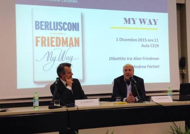 Alan Friedman alla Liuc