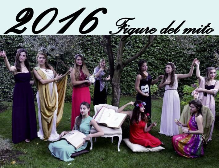 Calendario del liceo Cairoli 2016