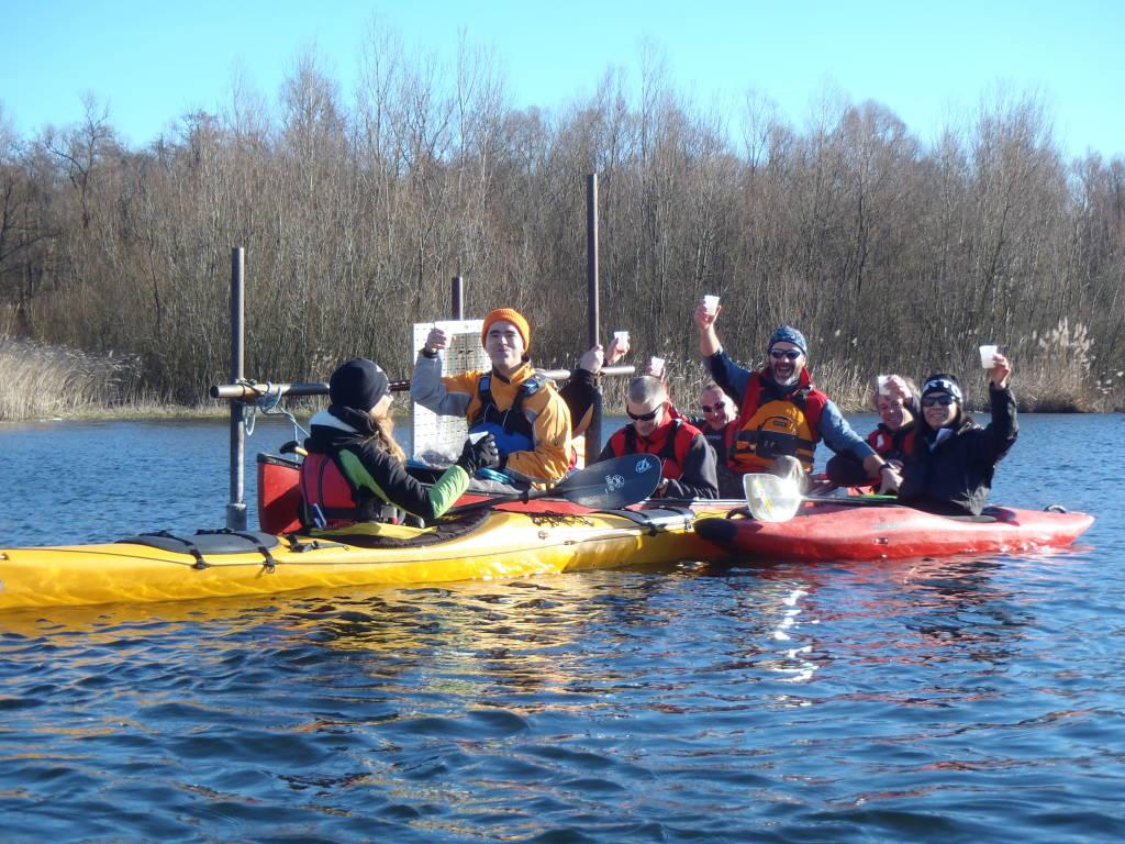S. Stefano 2016 Tradizionale uscita in canoa sul lago di Varese