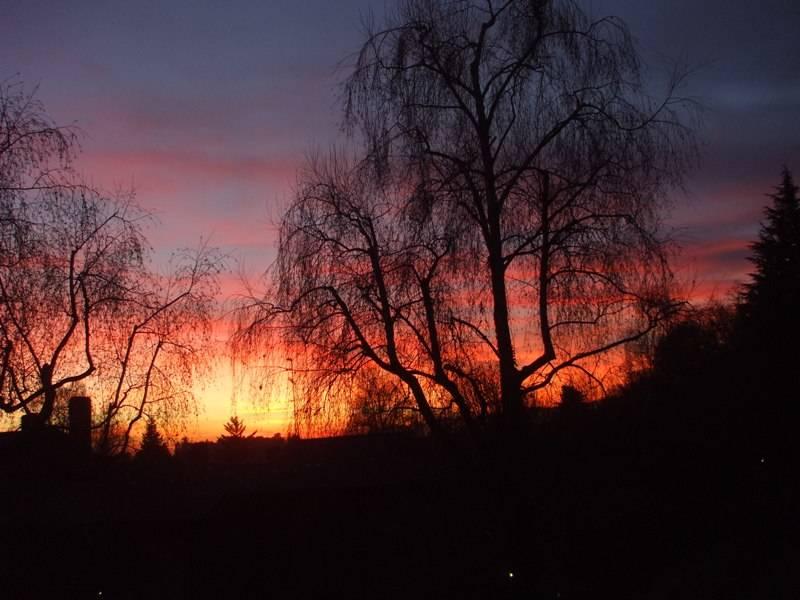 Un magnifico tramonto di dicembre....