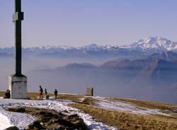 Panorama dal monte Lema