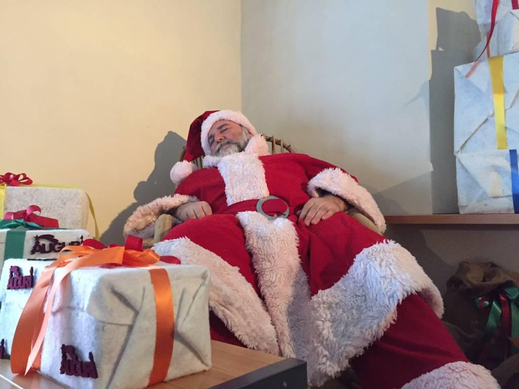 Diga del Panperduto in veste natalizia