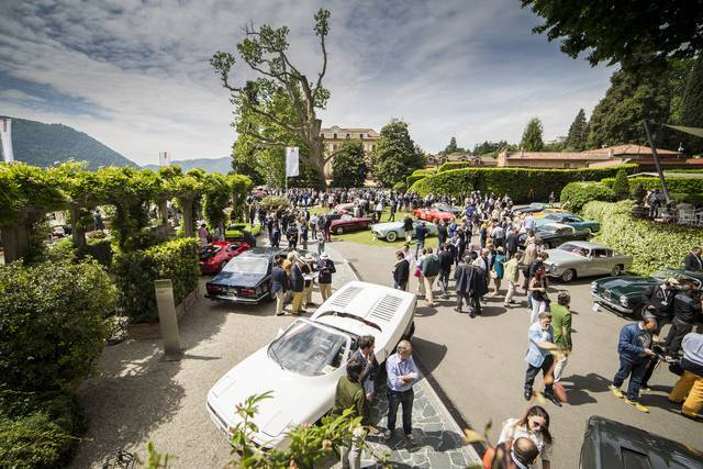 Eleganza e motori a Villa d'Este