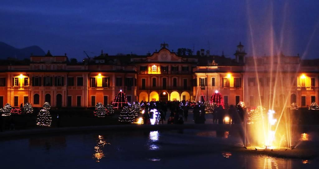 Il clima magico e festoso del S. Natale ai Giardini Estensi