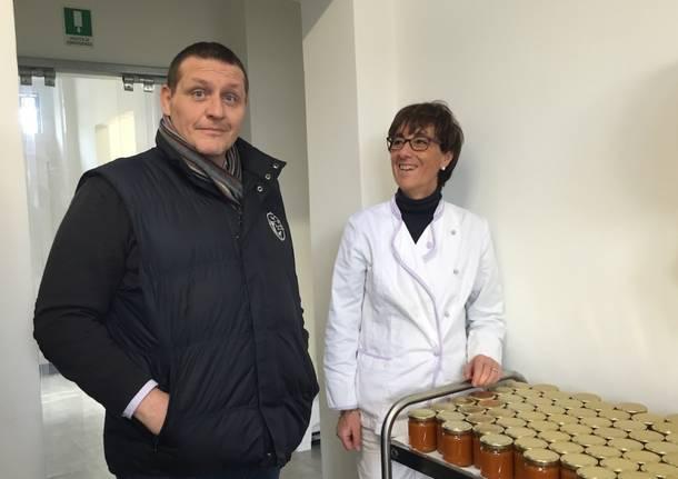 Il laboratorio di marmellate