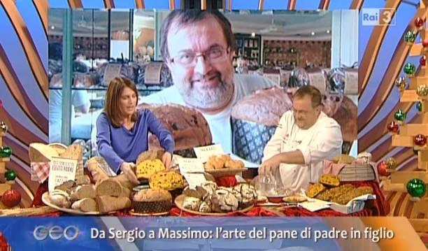Il panettiere Grazioli a Geo and Geo