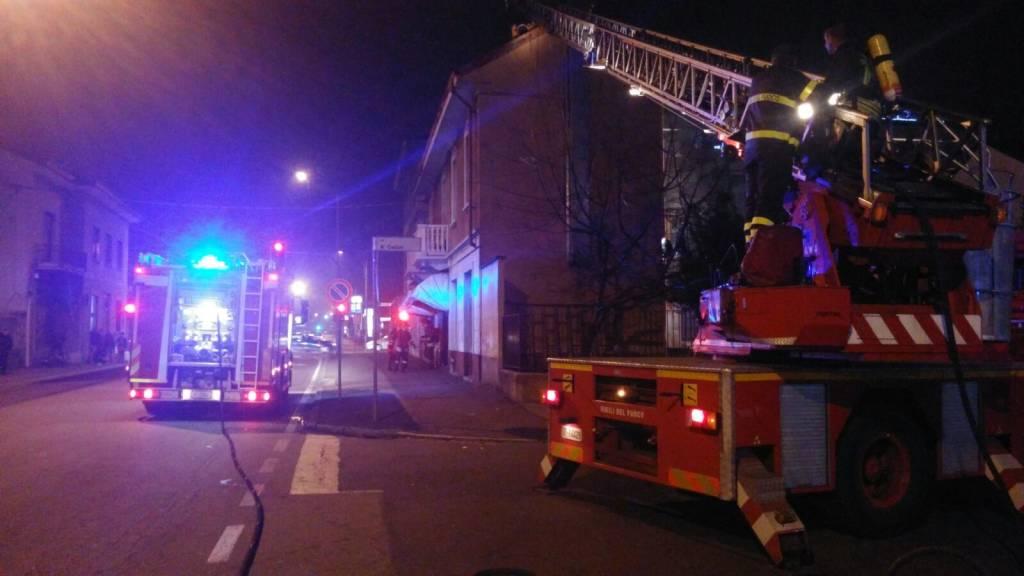 incendio gallarate 12 dicembre