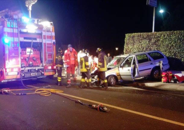 Incidente sulla provinciale a Bodio