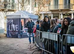 Marco Mengoni alla Casa del Disco dicembre 2015