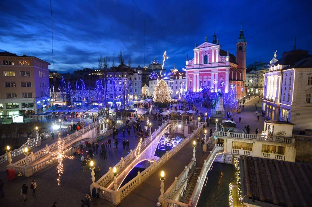 Natale a Lubiana