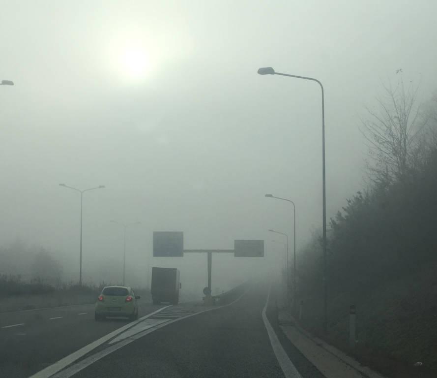 Nebbia a Malpensa