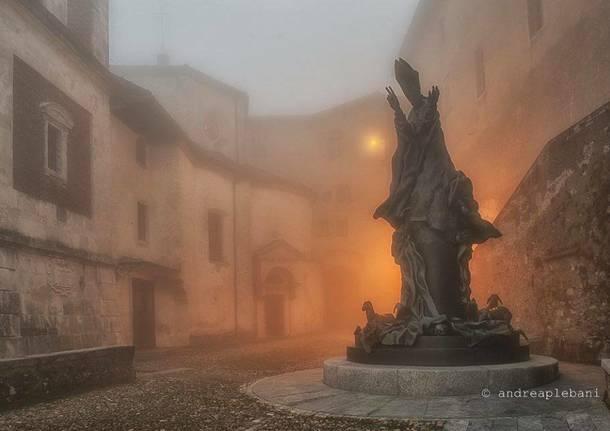 Paolo VI nella nebbia