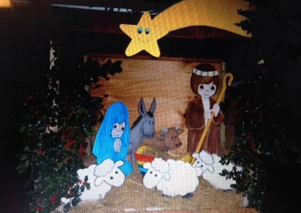 Scuola dell'infanzia di Oggiona in versione natalizia