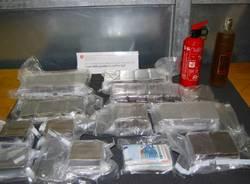 Sequestro di droga a Chiasso