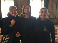 Smaniotto e Capitanucci con la presidente Boldrini