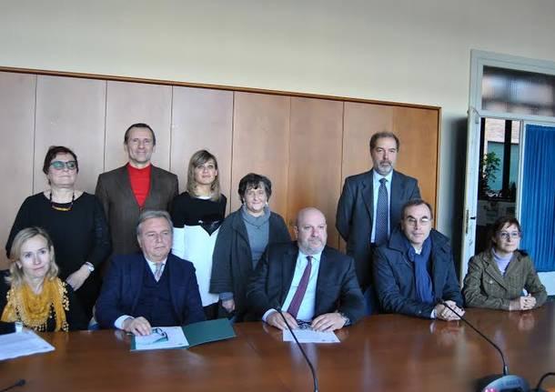 Sottoscrizione dell'accordo tra l'Università dell'Insubria e il Provveditorato dell'amministrazione penitenziaria