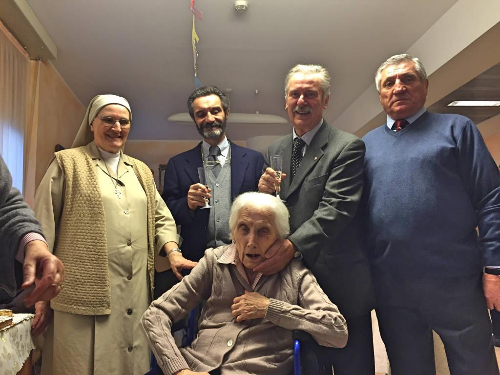 Vanda ha compiuto 100 anni