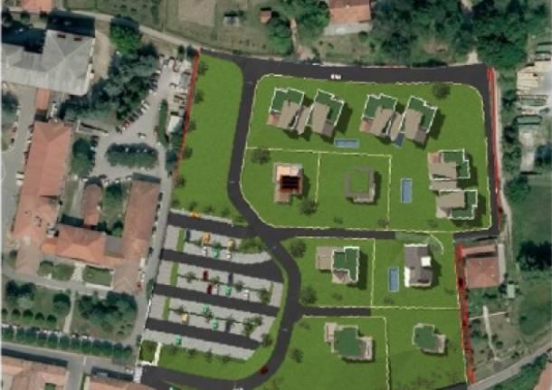 Progetto nuovo parcheggio ospedale angera