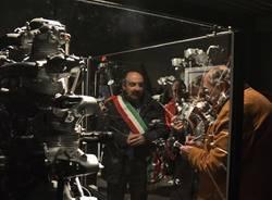 Volandia museo sezione didattica  motori aeronautici