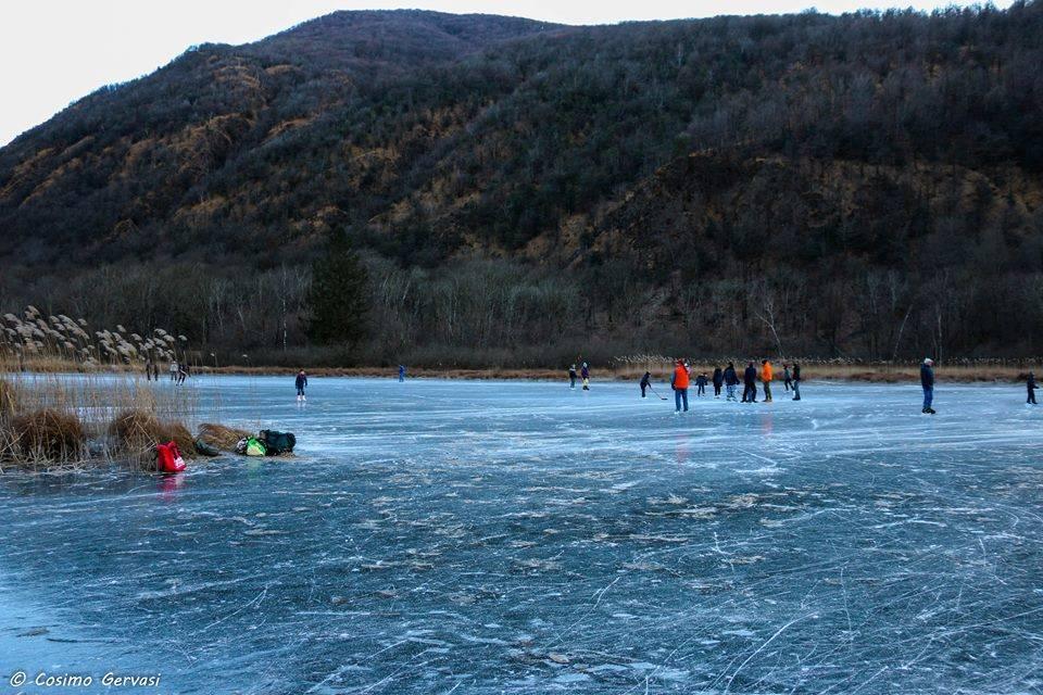 A piedi sul ghiaccio