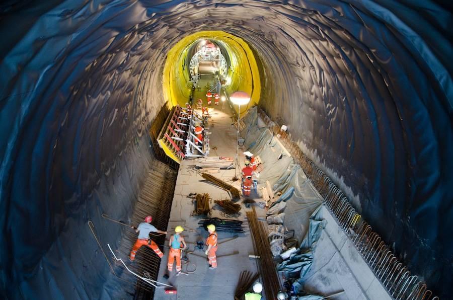 Alptransit tunnel Monte Ceneri