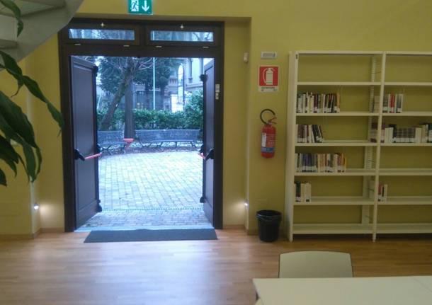biblioteca busto arsizio riscaldamenti inquinamento