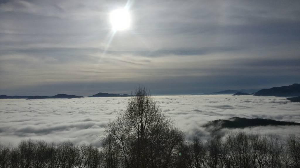Viaggio sopra le nuvole...