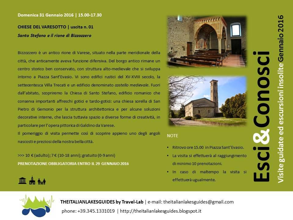 Chiesa Santo Stefano Bizzozero.Visita Guidata Chiese Del Varesotto Uscita N 01 Cosa