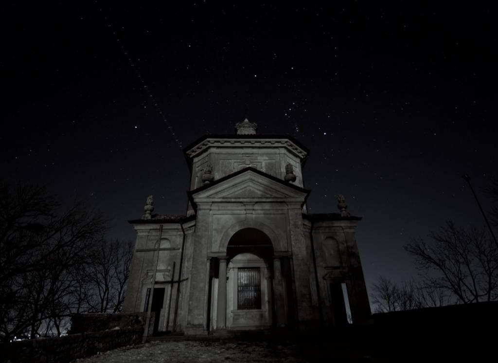 Sacro Monte di Varese sotto le stelle