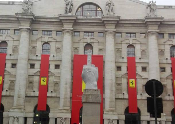 69d09202f5 La Borsa si veste di rosso, al via la quotazione della Ferrari