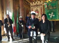 I premiati della polizia Locale regionale