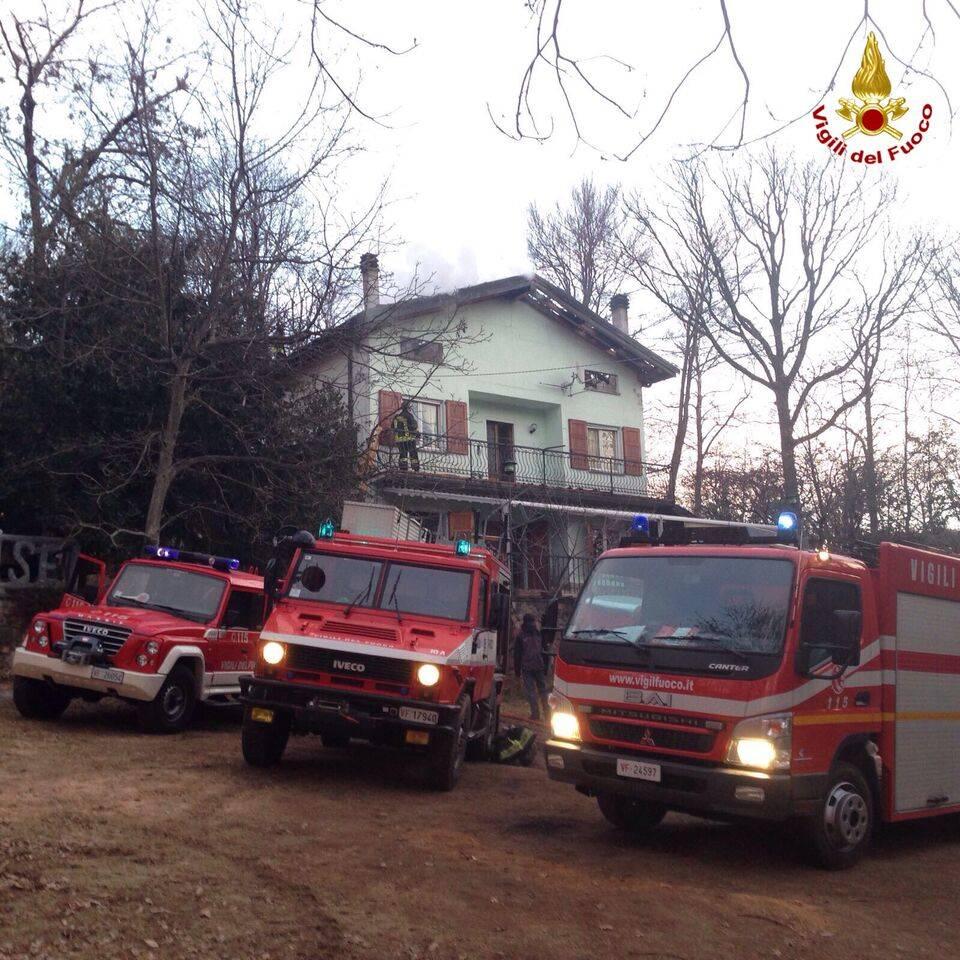 Incendio Brinzio