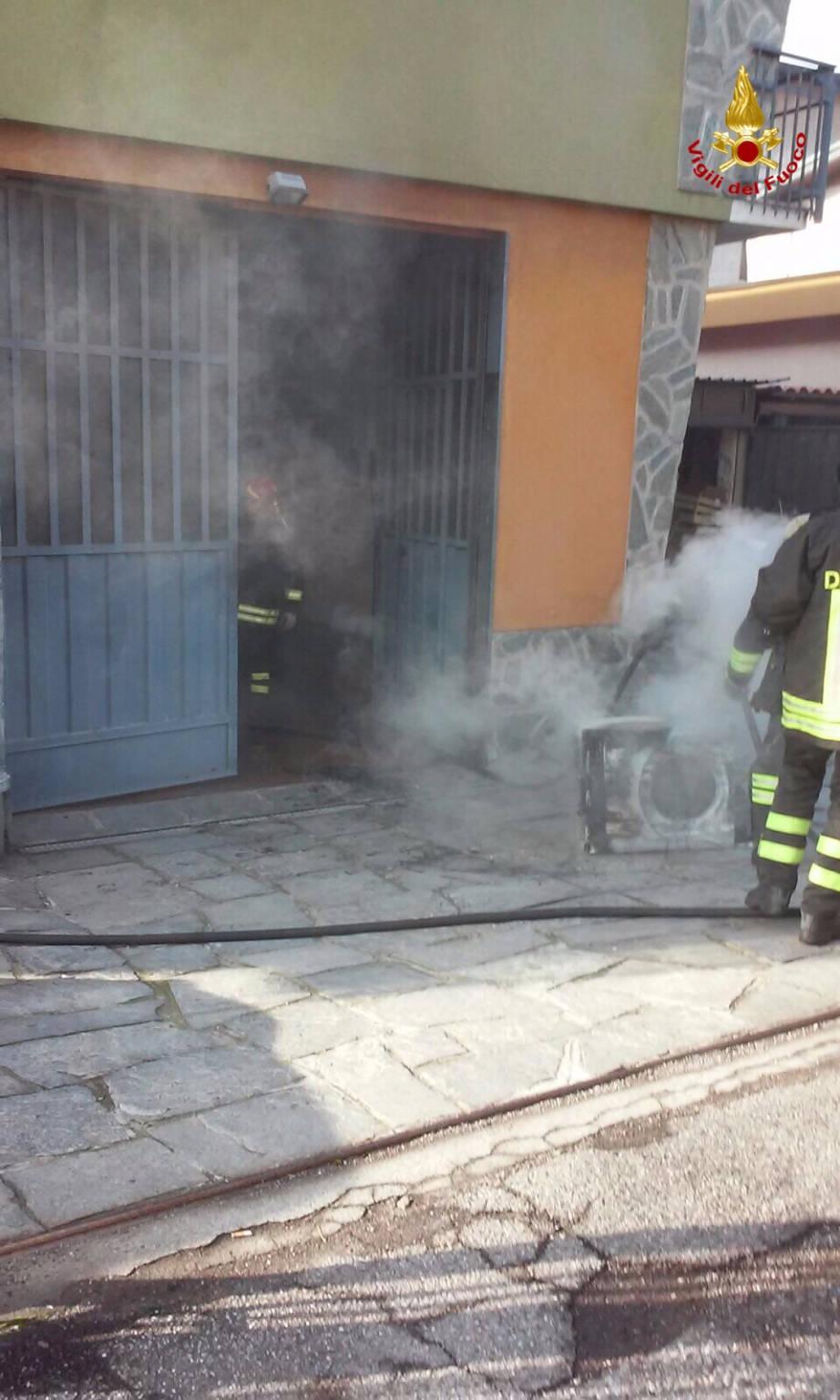 incendio busto arsizio 31 gennaio 2016