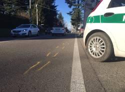 Incidente ad Arsago Seprio: coinvolta una bicicletta