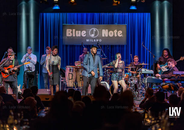 Incognito in concerto al Blue Note