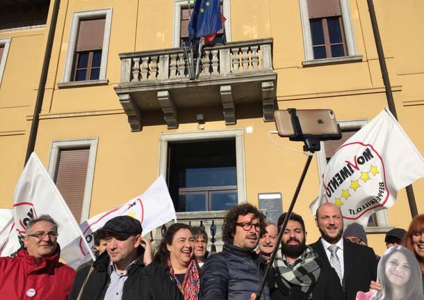 M5S protesta a Brenta