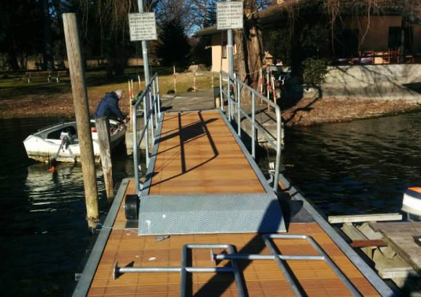 nuovo pontile isolino virginia 19 gennaio 2016