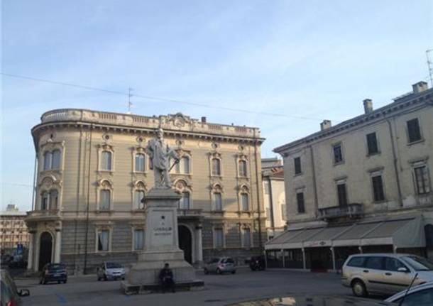 piazza Garibaldi Gallarate
