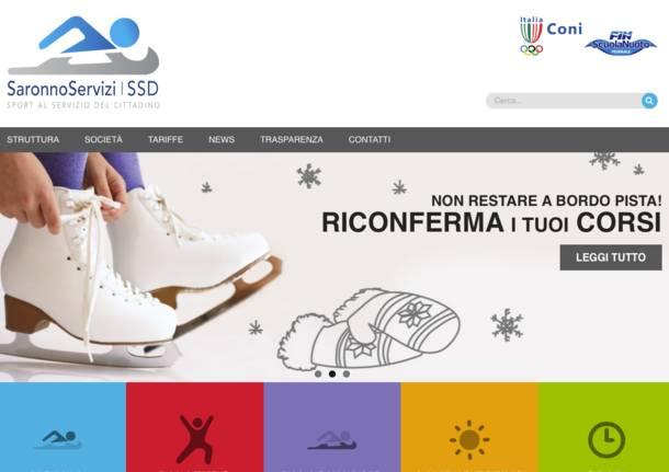 Online Il Nuovo Sito Della Piscina Di Saronno